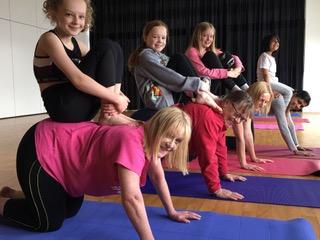 Child and Parent Ashtanga Yoga