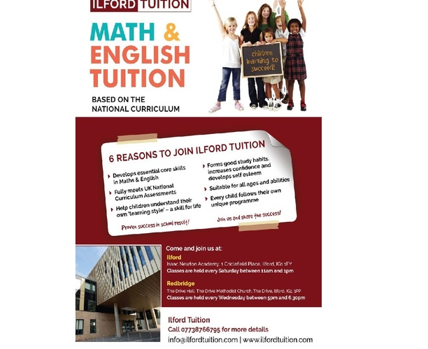 Maths & English Tuition
