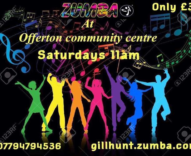 Fit Steps Zumba Class - Offerton community centre - Main Hall