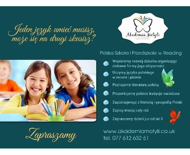 Akademia Motyli - Polish Supplementary School