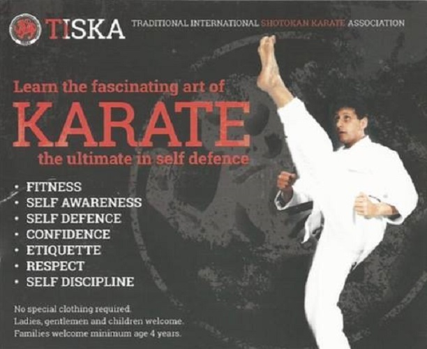 Tiska Karate - Adult Session