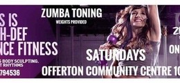 Zumba Toning - Offerton community centre - Main Hall