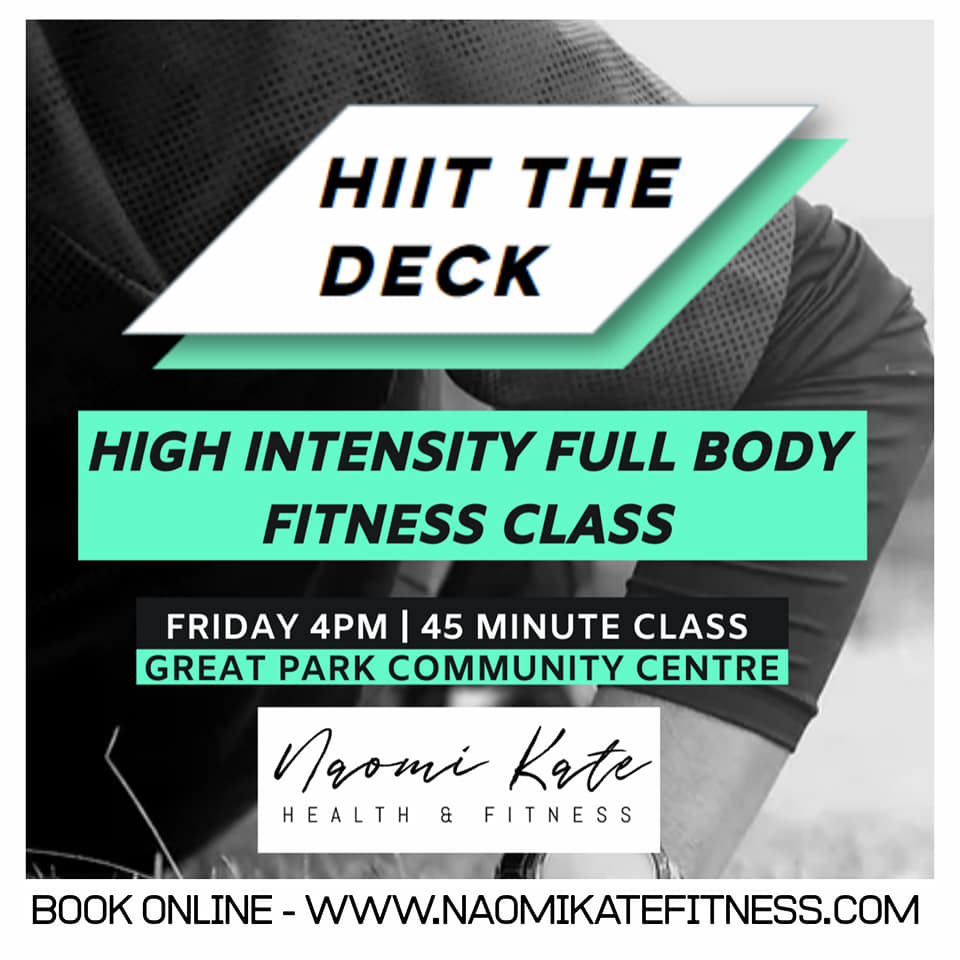 HIIT THE DECK