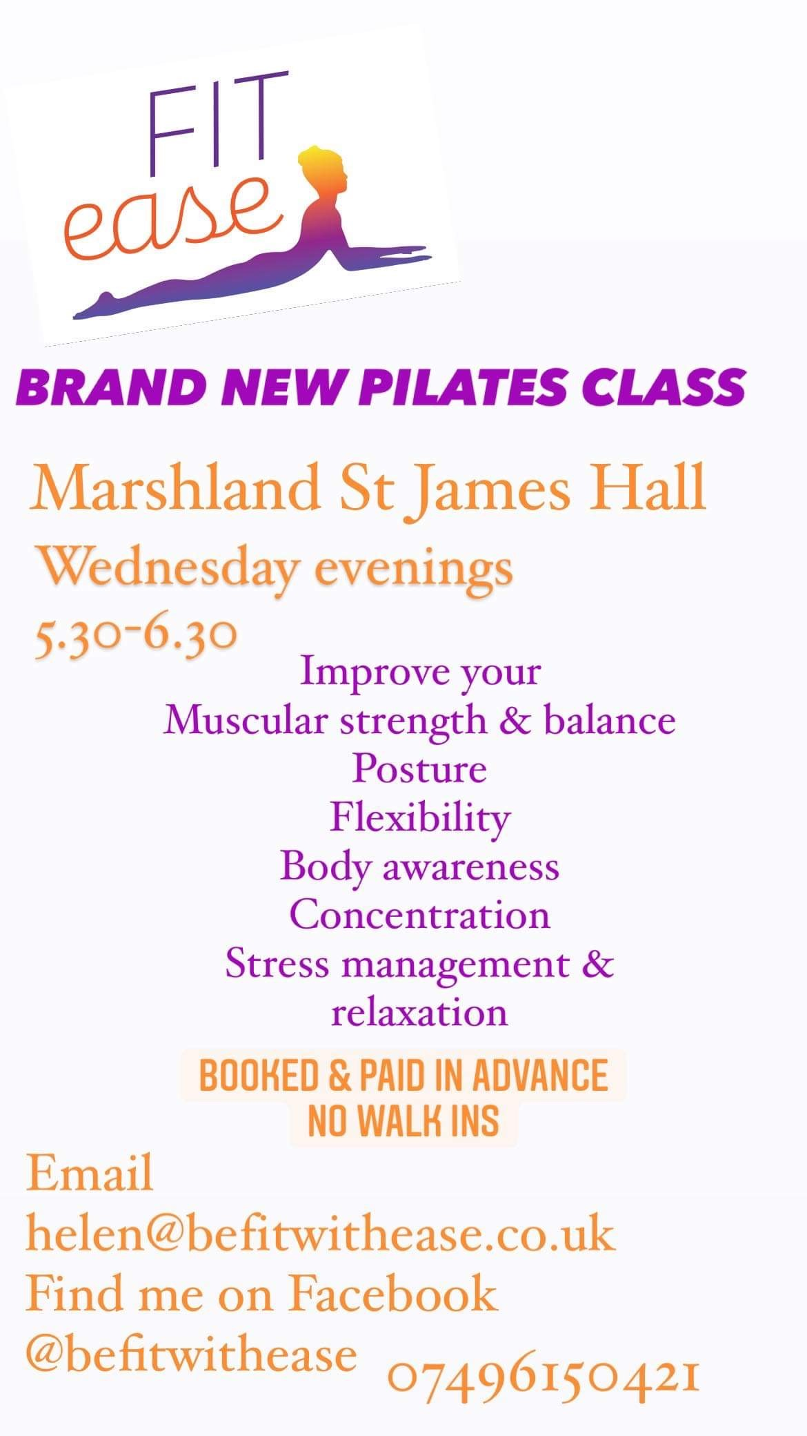 Pilates Class with Fit Ease