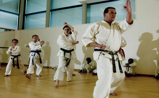 Regular karate class