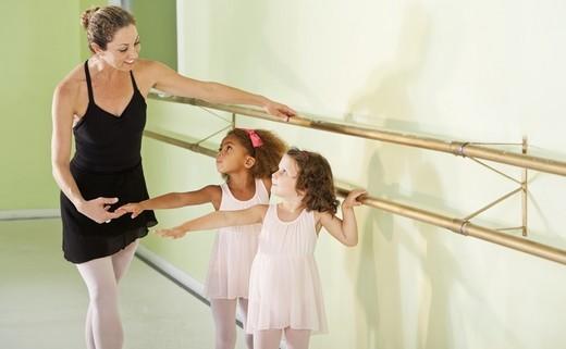 Regular ballet kids