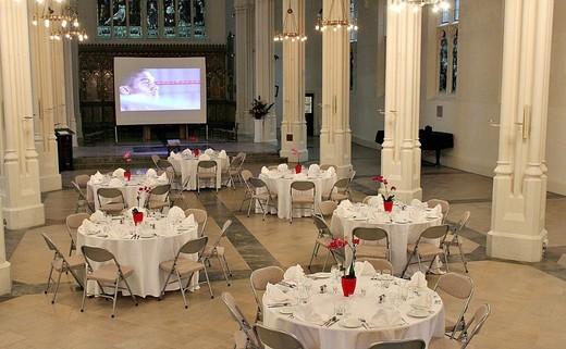 Regular church banquet tables v2