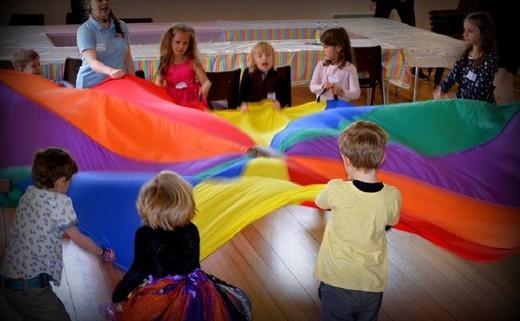 Regular childrens party parachute