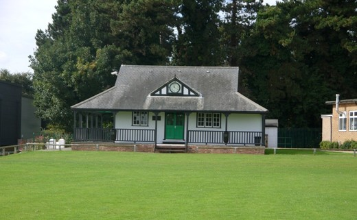 Regular cricket pavilion
