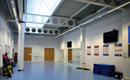 Regular strength   conditioning room