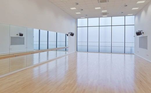 Regular dance studio