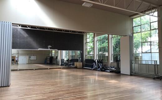 Regular gym dance studio