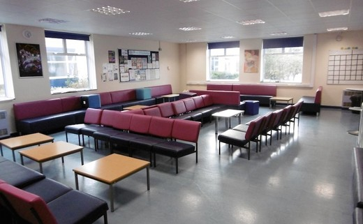 Regular 6th form common room