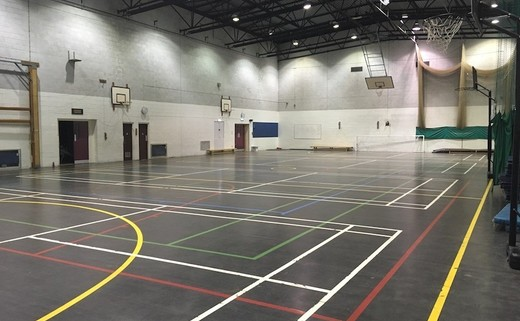 Regular woodhey sports hall new 2