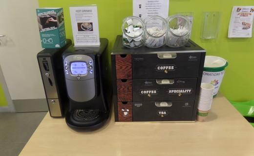 Regular new coffee machine