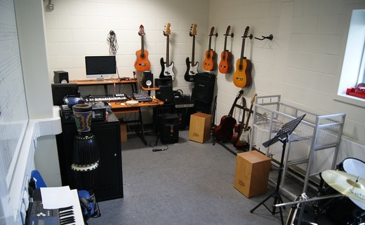 Regular music room
