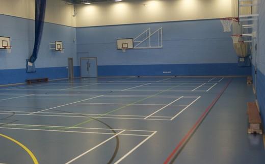 Regular sports hall 1040x692