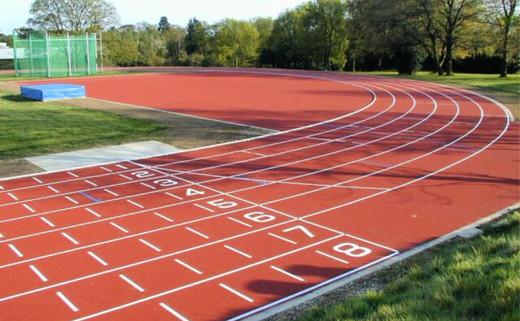 Regular 3. athletics track