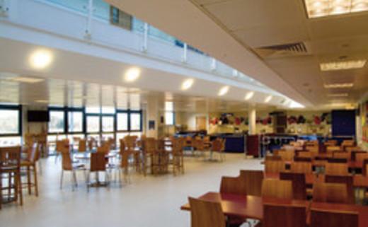 Regular thumb dining hall
