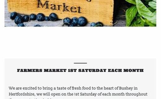 Bushey farmers market