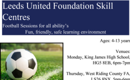 Leeds United Foundation Skill Centres