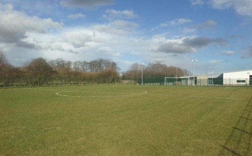 Regular footy pitch