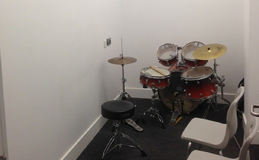 Regular small music practice room