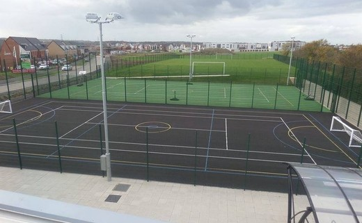 Regular muga from roof