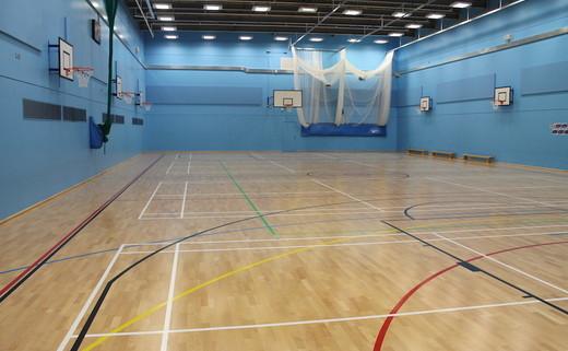 Regular crest   sports hall thumbs