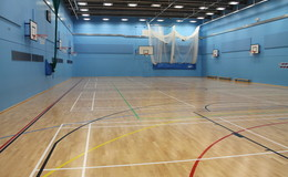 Thumb crest   sports hall thumbs