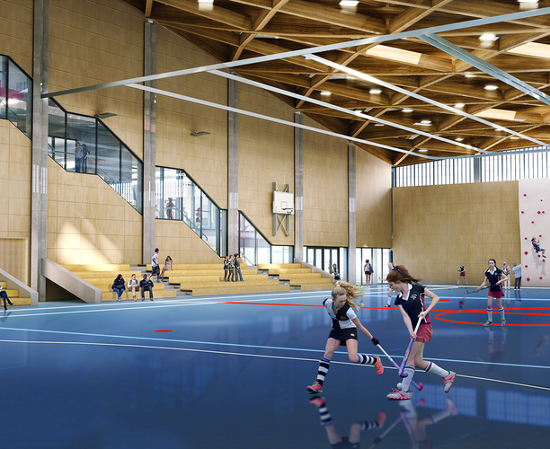 Our new Activity Centre is just a month away from completion!