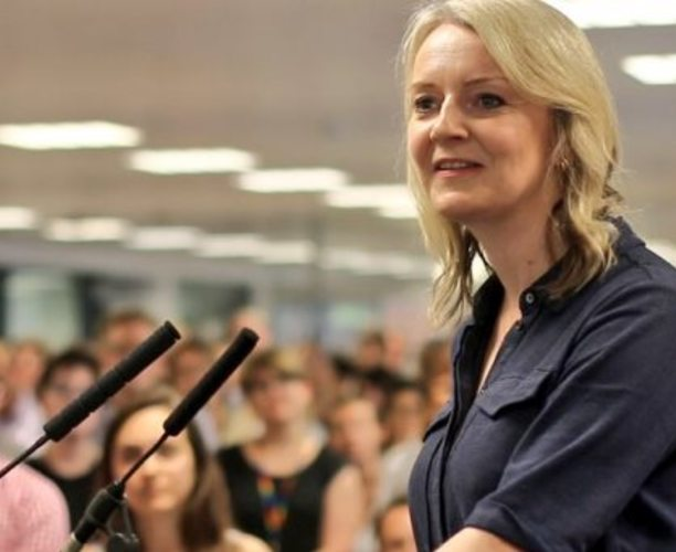 Liz Truss Visits Marshland Hall