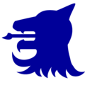 Logo redraw blue