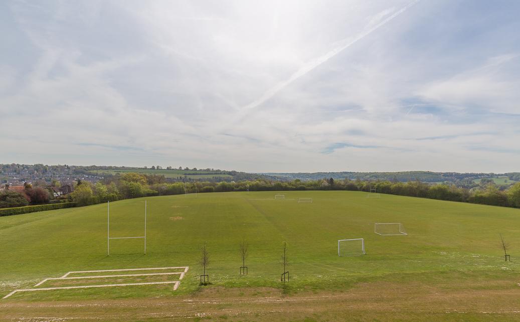 Sports fields...
