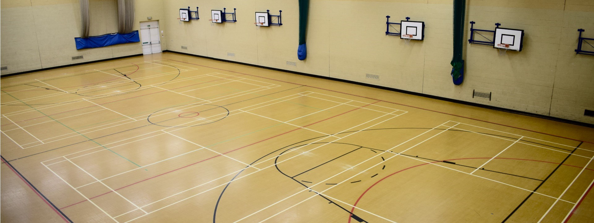 Hire our Sports Hall
