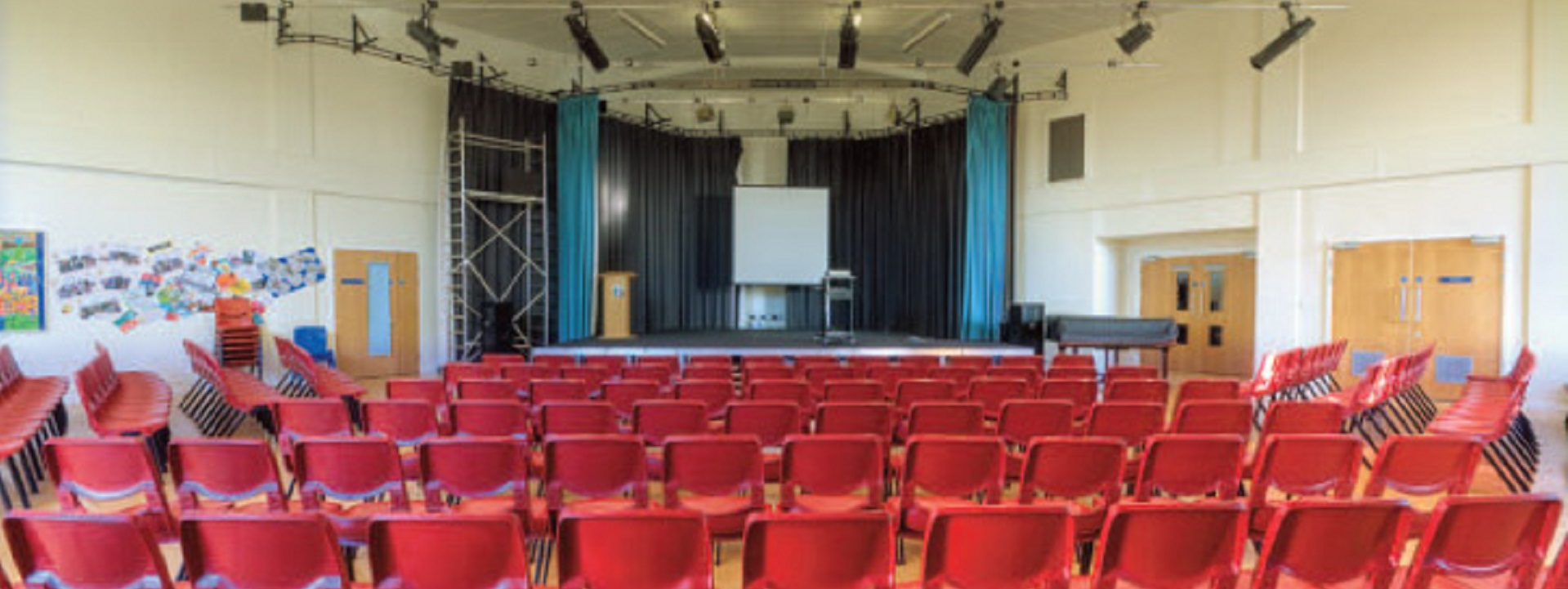 Hire our large events hall...