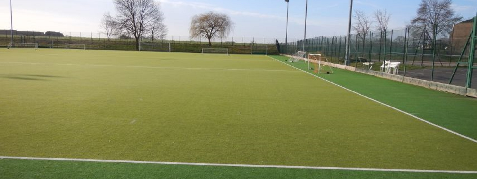 Hire our floodlit astro pitch...
