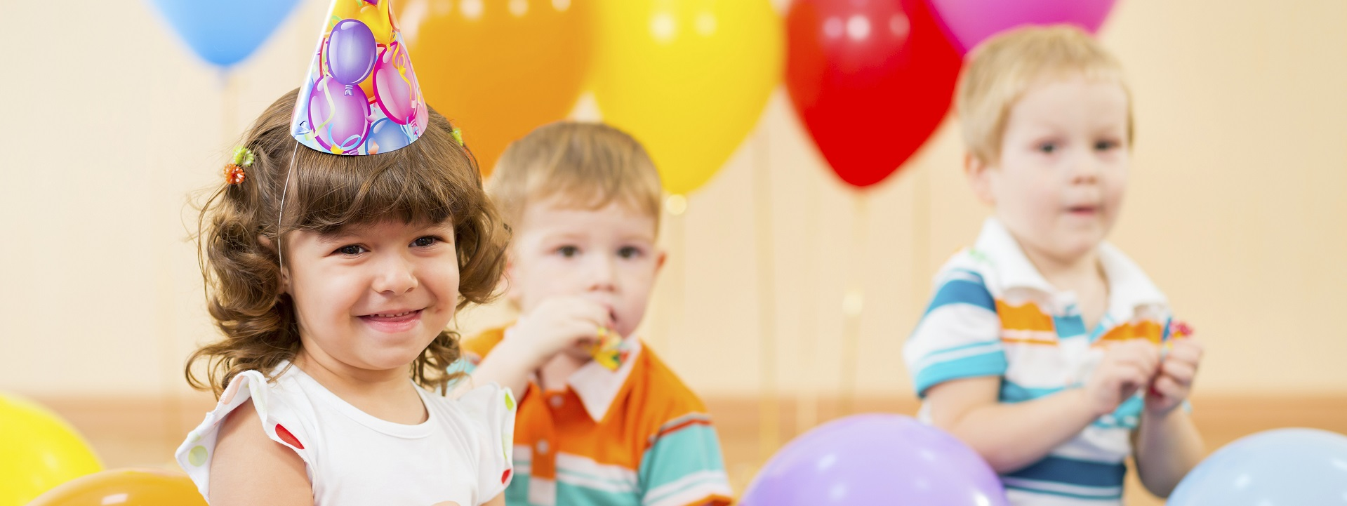 Hire a hall for your children's party...