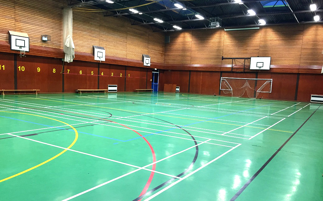 We've got excellent sports facilities for hire